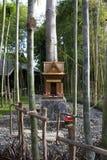 Japanese Shrine  in Nekoemon cafe chiang mai thailand stock images