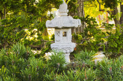 Japanese shrine in park Stock Photo