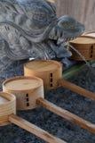 Japanese shrine precincts. The construction of religion / Japanese shrine royalty free stock photos