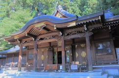 Japanese Shrine Takyama Royalty Free Stock Photography