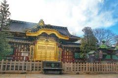 The Japanese shrine in the Ueno park, Tokyo,  Japan Stock Image