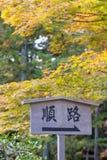 Japanese signage Royalty Free Stock Photography
