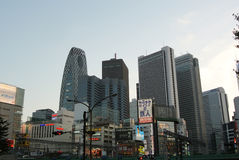Japanese Skyline Royalty Free Stock Photography