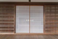Japanese sliding paper door . Stock Photos & Japanese Sliding Paper Door Stock Image - Image of ancient long ...