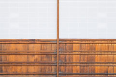 Japanese sliding paper door Shoji Royalty Free Stock Images