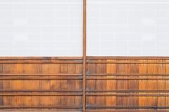 Japanese sliding paper door Shoji Royalty Free Stock Images