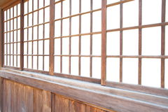 Japanese sliding paper door Stock Photography
