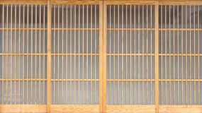 Japanese sliding paper door Royalty Free Stock Image