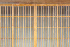Japanese sliding paper door Stock Photo