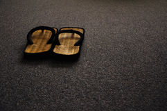 Free Japanese Slippers On The Floor Royalty Free Stock Photos - 16553928