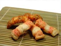 Japanese snacks royalty free stock photography