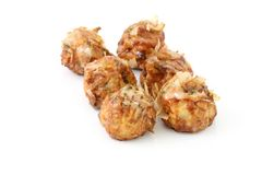 Japanese sneak food , Octopus meat ball, Takoyaki Stock Image