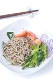 Japanese soba noodle Stock Image