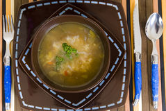 Japanese soup Royalty Free Stock Photography
