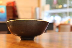 Japanese Soup Cup. Close-up Royalty Free Stock Photo