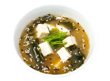 Japanese soup Royalty Free Stock Photos