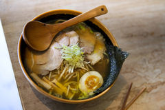Japanese soup Royalty Free Stock Images