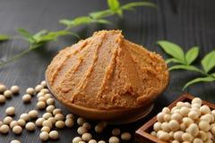 Japanese soybean paste MISO Royalty Free Stock Photo