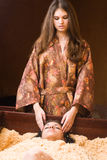 Japanese spa procedure Stock Photography