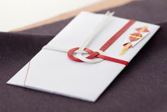 Japanese special envelope Royalty Free Stock Image