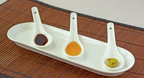 Japanese spices Royalty Free Stock Photos