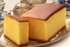 Japanese sponge cake Castella, Japanese Food Stock Photos