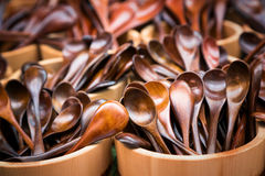 Japanese spoons Stock Photography