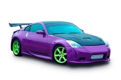 Japanese sports luxury car Royalty Free Stock Image