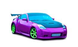 Japanese sports luxury car Stock Photography