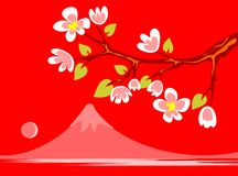 Japanese spring Stock Photo