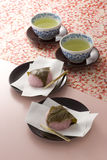 Japanese spring's tea time Royalty Free Stock Photos