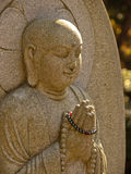 Japanese statue of buddha Royalty Free Stock Photos