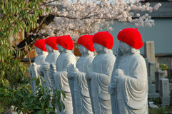 Japanese statues royalty free stock photo