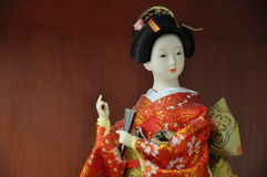 Japanese Statuette Royalty Free Stock Photos