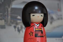 Japanese  Statuette Royalty Free Stock Image