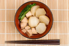 Japanese stewed Stock Image