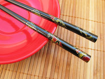 Japanese sticks Royalty Free Stock Images