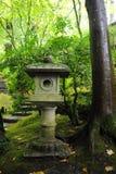 Japanese stone decoration Royalty Free Stock Photo