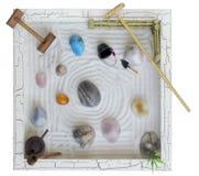 Japanese stone garden Stock Image