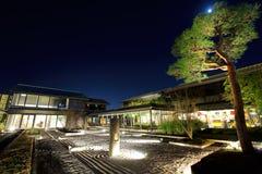 Japanese stone garden Royalty Free Stock Image