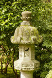 Japanese stone lamp Royalty Free Stock Photos