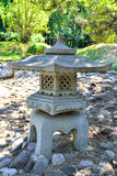 Japanese Stone Lantern. Stone Lantern In A Japanese Garden Royalty Free Stock Photo
