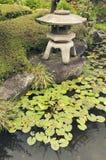 Japanese stone lantern Royalty Free Stock Photography