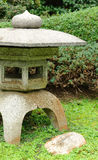 Japanese stone lantern Stock Photo