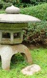 Japanese stone lantern Stock Photo