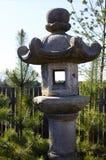 Japanese Stone Lantern Stock Photography
