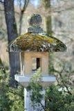 Japanese stone lantern Stock Images