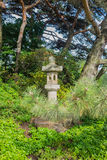 Japanese stone lantern Stock Photography
