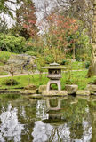 Japanese stone lantern Royalty Free Stock Images