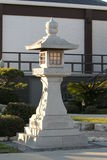 Japanese Stone Pagoda Royalty Free Stock Photos